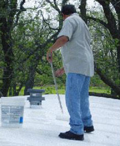 bates mobile home leveling appling mobile home roof coating